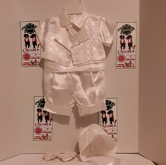Other - Baby satin suit